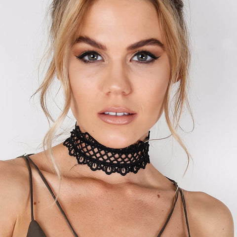 Chic Lace Choker Necklace