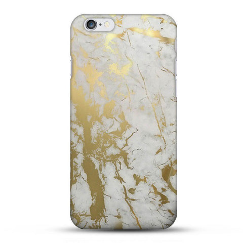 Gold Marble Phone Case for iPhone
