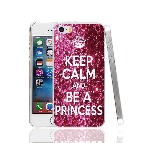 Keep Calm and be a princess Phone Case for iPhone