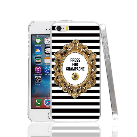 Press For Champagne Phone Case for Apple iPhone