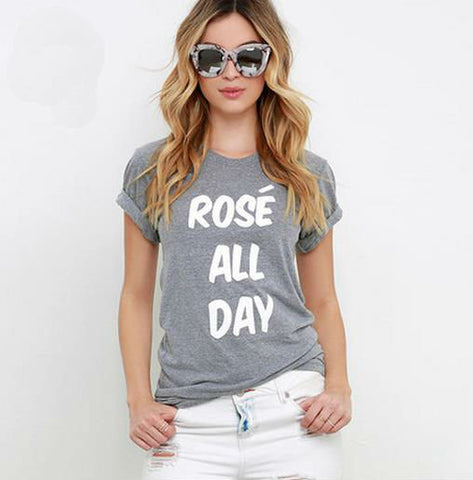 Rose All Day Tee