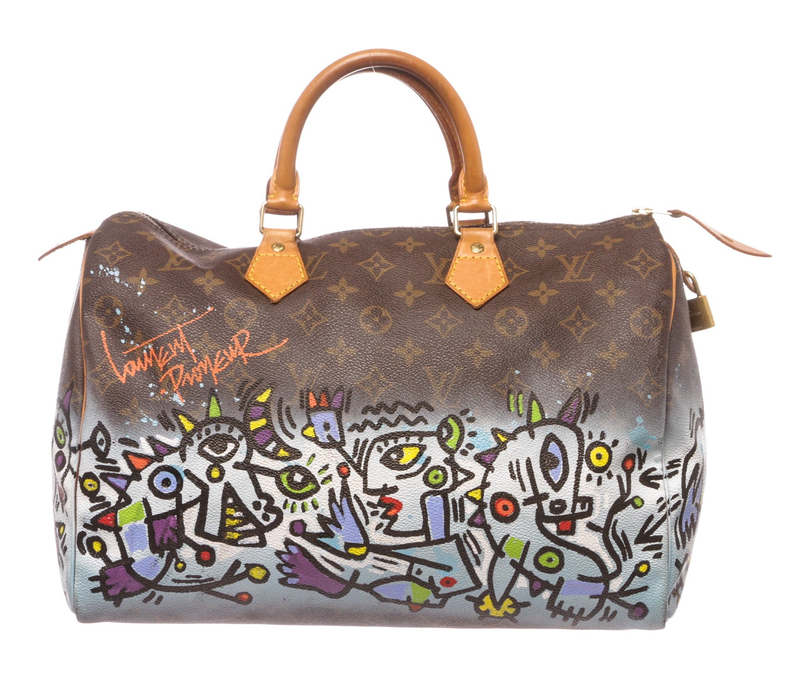 381810a88a6b VOYART - Individually Made - Louis Vuitton Duffle Bag - Series 5 – THE LIONZ