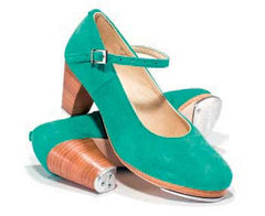 Suede in Acqua Green