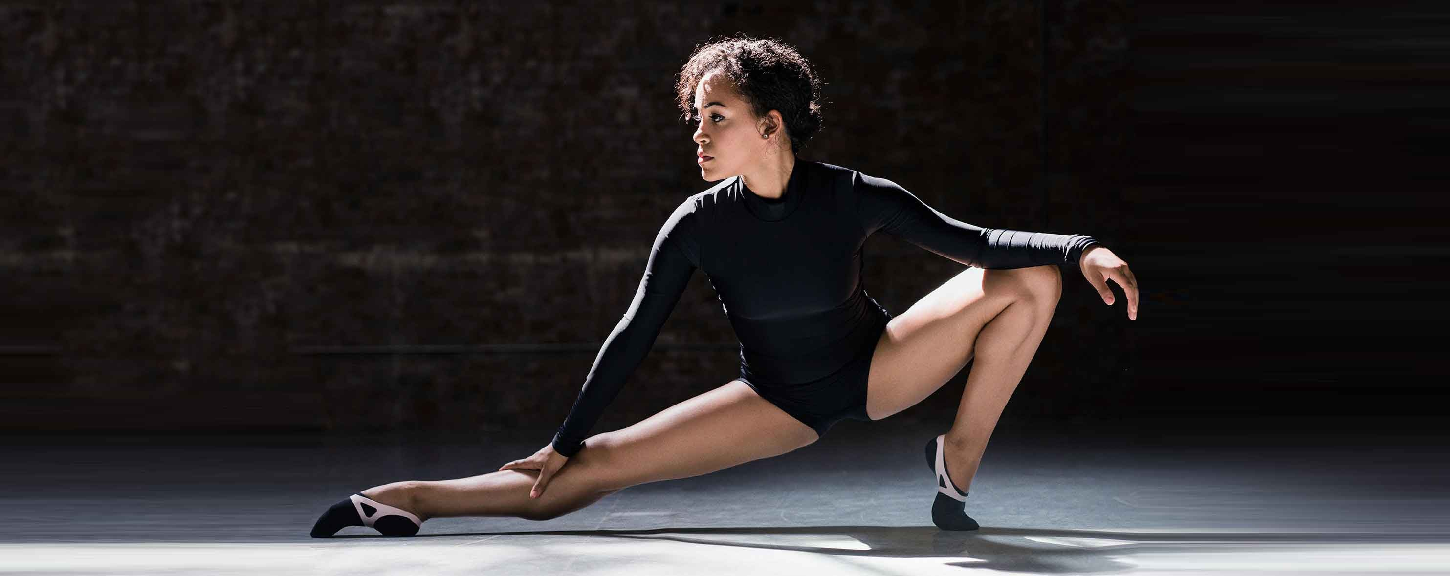 Capezio Arch & Capezio Extend on Dancer Allison H21U