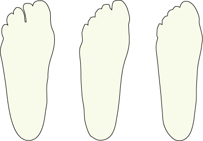 FootID™ width options for shoe sizing