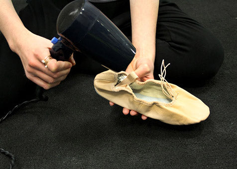 Stretching Leather Shoes