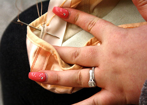 How To Attach Pointe Shoe Ribbon