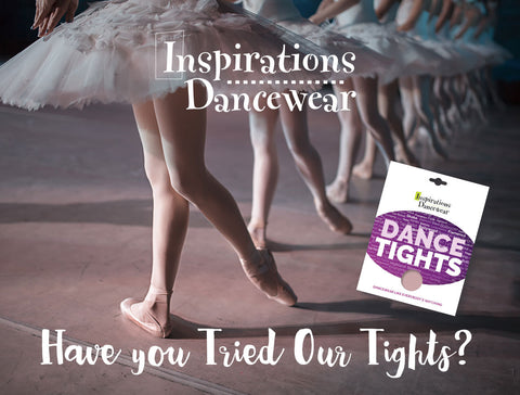 Have you tried our dance tights?