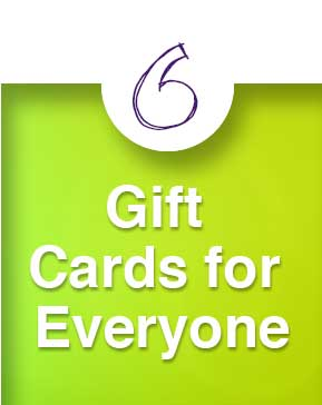 Dance Gift Guide: Gift Cards for Everyone