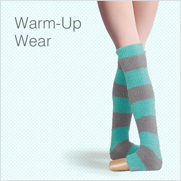 Warm-Up Wear for Dancers