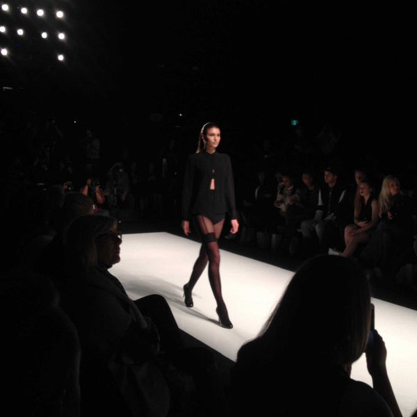 Canadian-Made Mondor Tights at Toronto Fashion Week - Image 2
