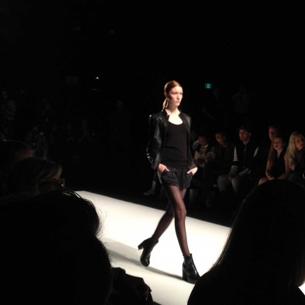 Canadian-Made Mondor Tights at Toronto Fashion Week - Image