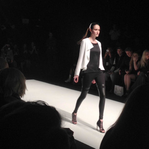 Canadian-Made Mondor Tights at Toronro Fashion Week