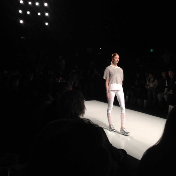 Canadian-Made Mondor Tights at Toronto Fashion Week - Image 1