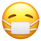 emoji with surgical mask