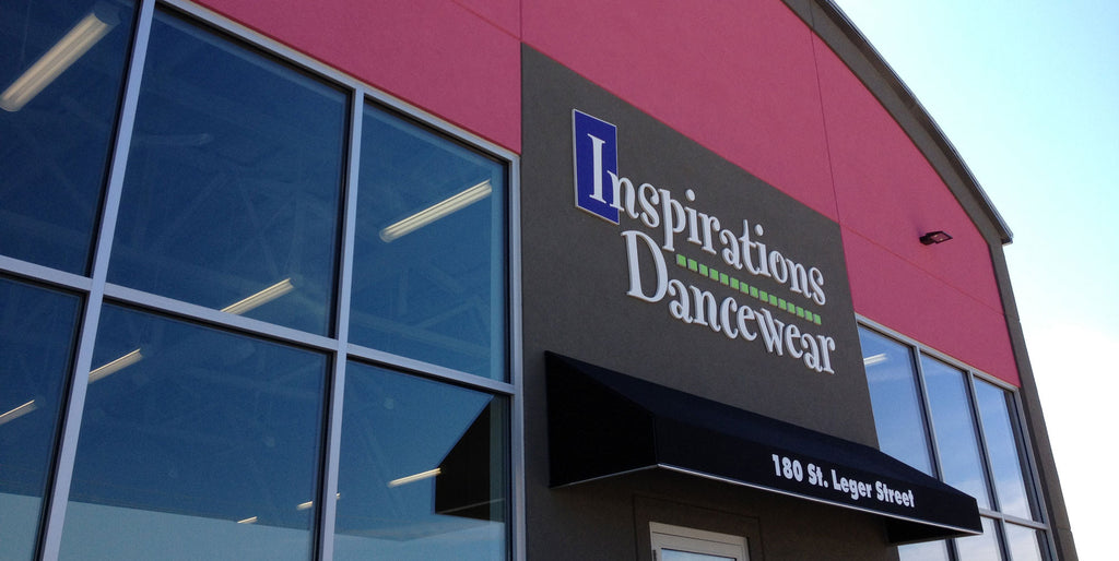 Inspirations Dancewear Store front