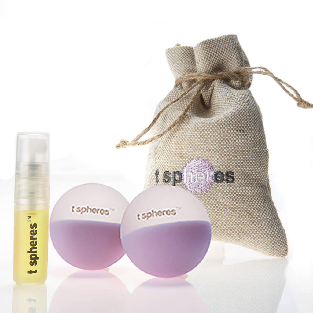 Peace & Quiet Aromatherapy Massage Ball Kit