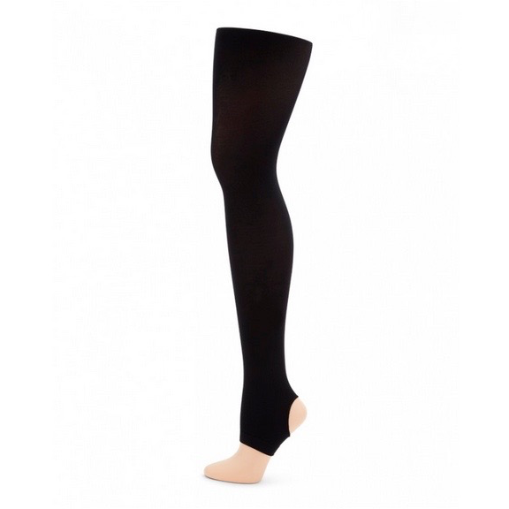Ultra Soft Stirrup Tights - Child - Inspirations Dancewear - 2