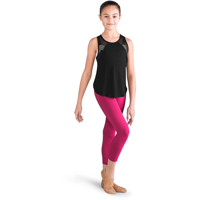 Crossover Waistband Leggings - Child