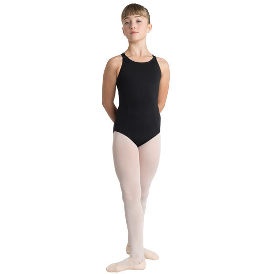 Harness Back Leotard - Child