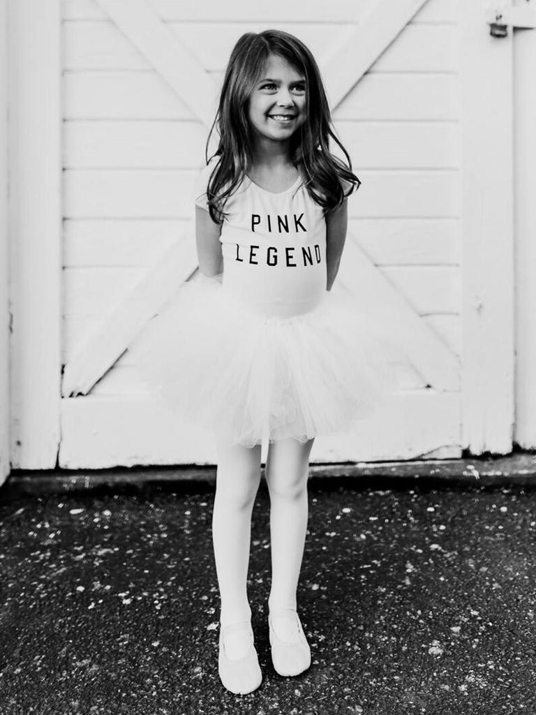 Short Sleeve Pink Legend Leotard - Child