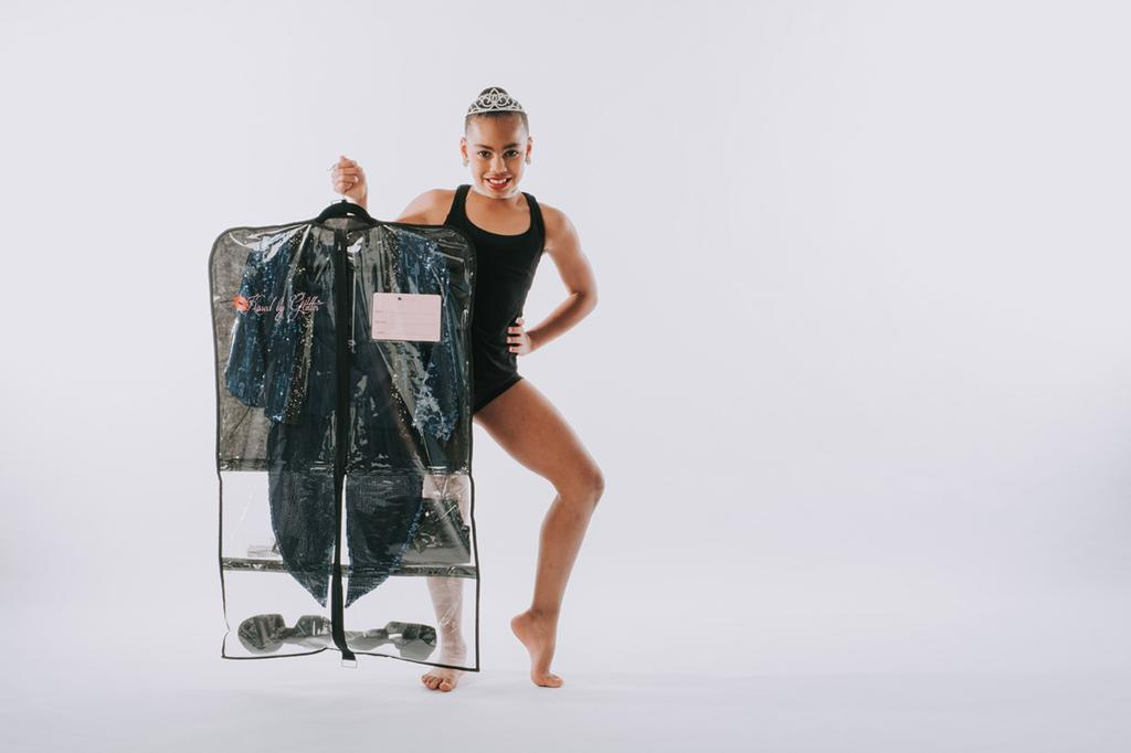 Breathable Garment Bag - Black