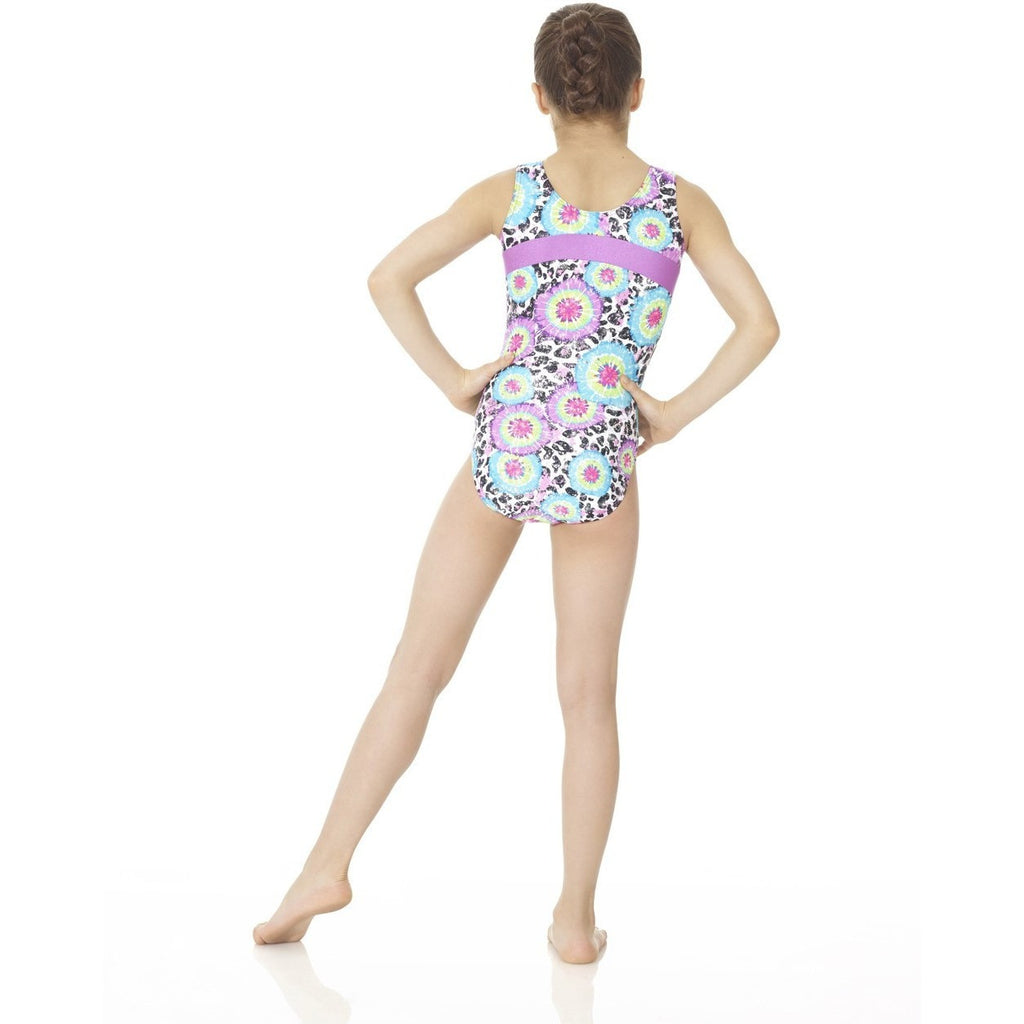 Printed Tank Gym Suit - Inspirations Dancewear - 2