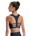 Racerback Cage Back Crop Top - Adult & Child
