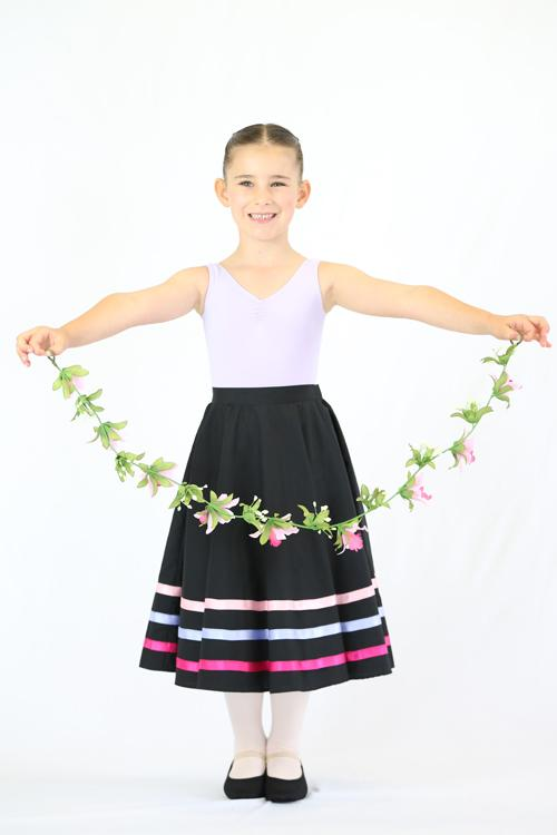Character Skirt with Ribbons - Adult