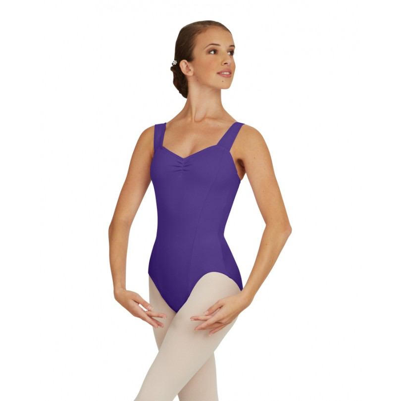 Wide Strap Leotard - Adult - Inspirations Dancewear - 1