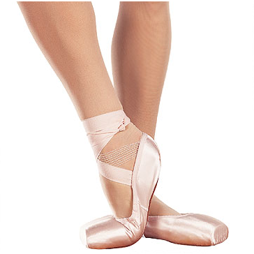 Soft-Toe Demi-Pointe Shoes - Inspirations Dancewear