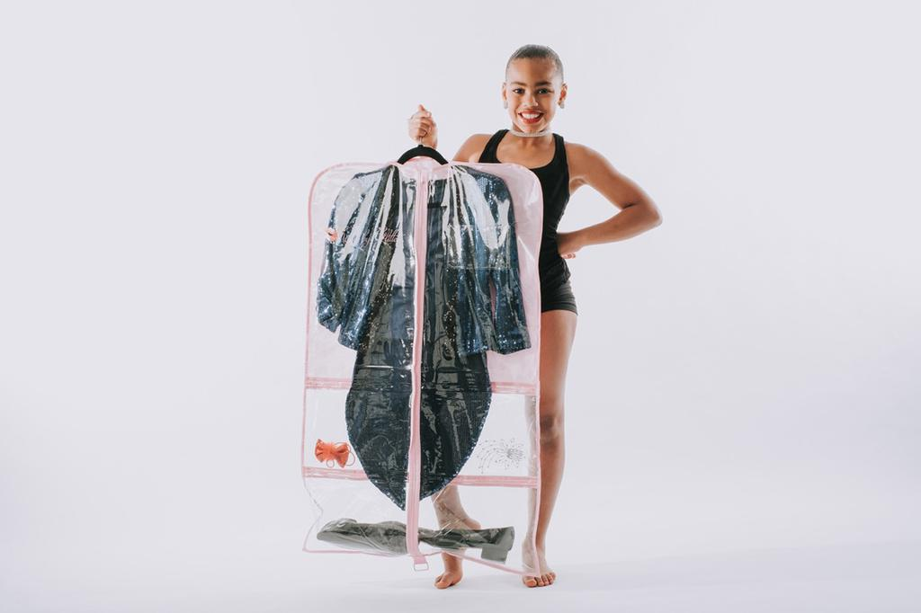 Breathable Garment Bag - Pink