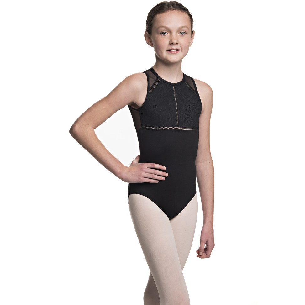 Coco Leotard with Kara Lace - Child