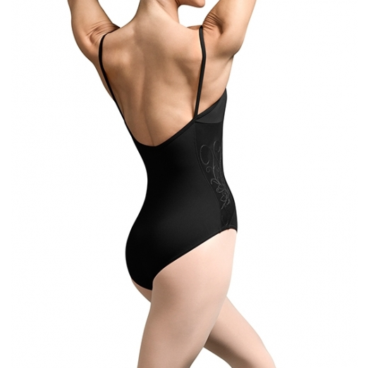 Embroidered Side Panel Leotard - Inspirations Dancewear - 2