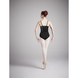 Khloe Spliced Back Panel Leotard with Mesh Underlay - Adult - Inspirations Dancewear