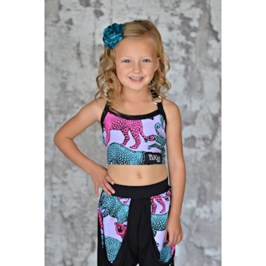 Ring Halter Crop Top - Child - Inspirations Dancewear