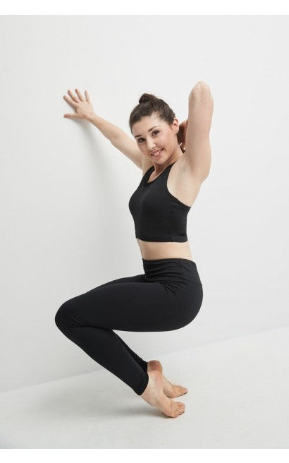 Matrix Leggings with Formed Waistband - Child