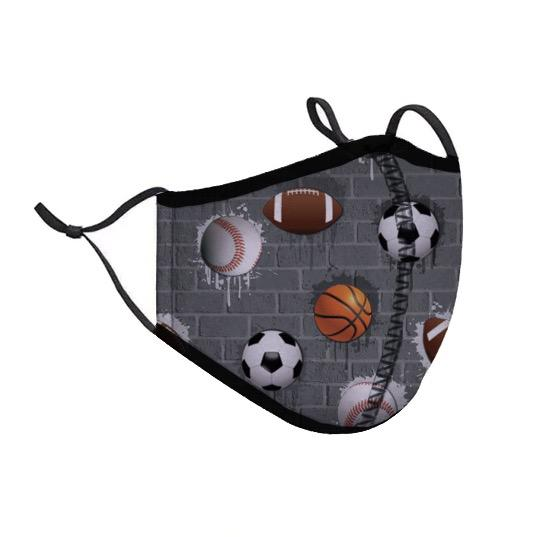 Protective Face Cover - Kids - Sports