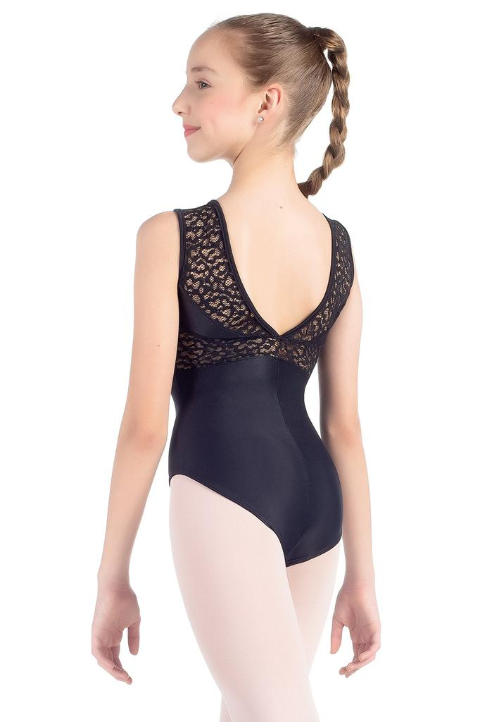 Lace Neckline Bodysuit - Child