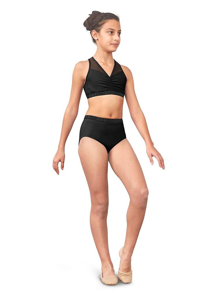 High Waist Exposed Elastic Brief - Child