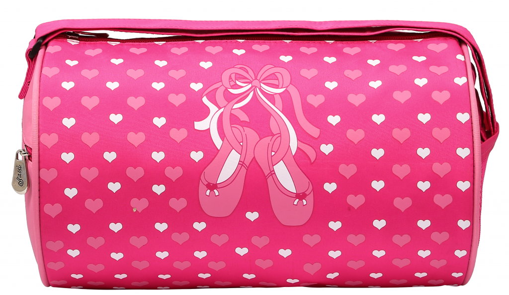 Slippers and Hearts Duffle