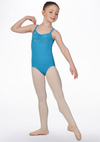 Floral Printed Mesh Leotard - Child