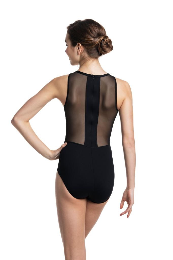 Naomi Mesh Panel Leotard - Adult