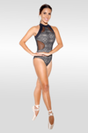 Babette Leotard with Mesh and Lace - Adult