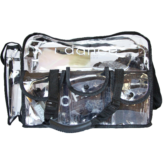 Clear Make-Up Stage Bag - Inspirations Dancewear