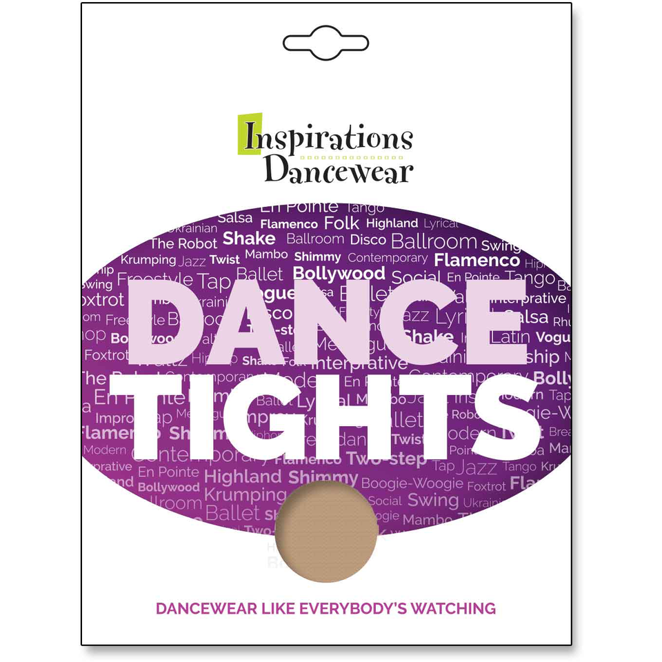 Inspirations Footed Tights - Inspirations Dancewear