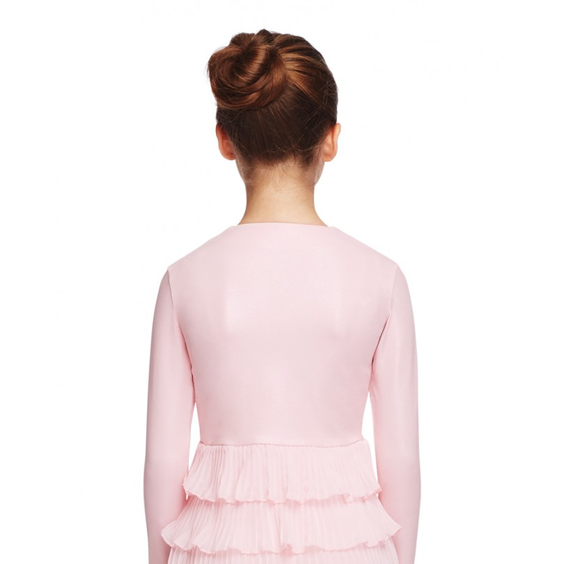 Overlapping Pleat Detail Jacket - Child - Inspirations Dancewear - 2
