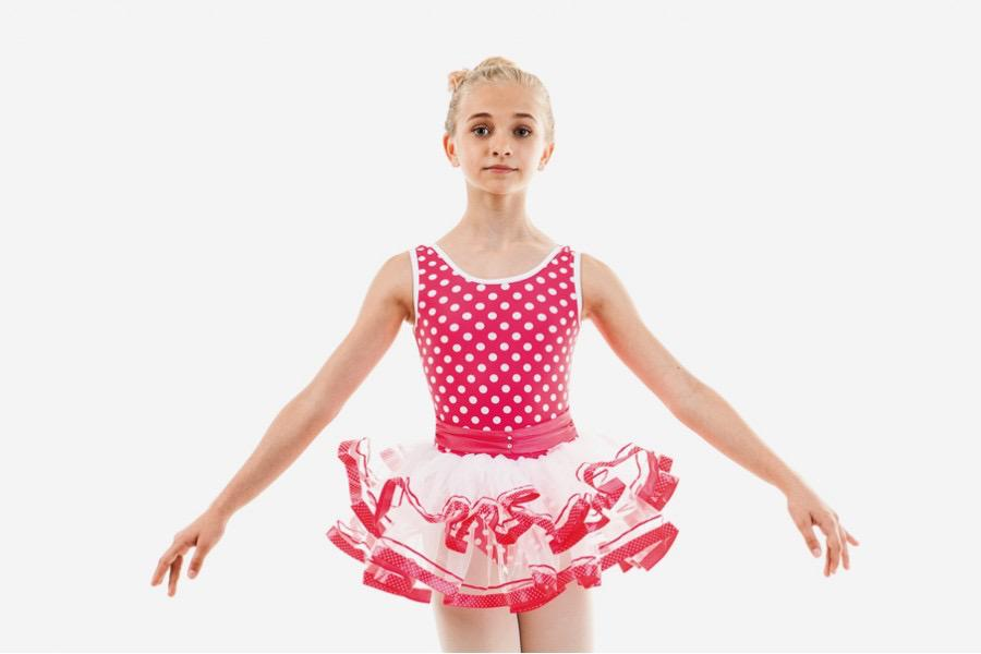 Blissy Polka Dot Tutu Dress - Child
