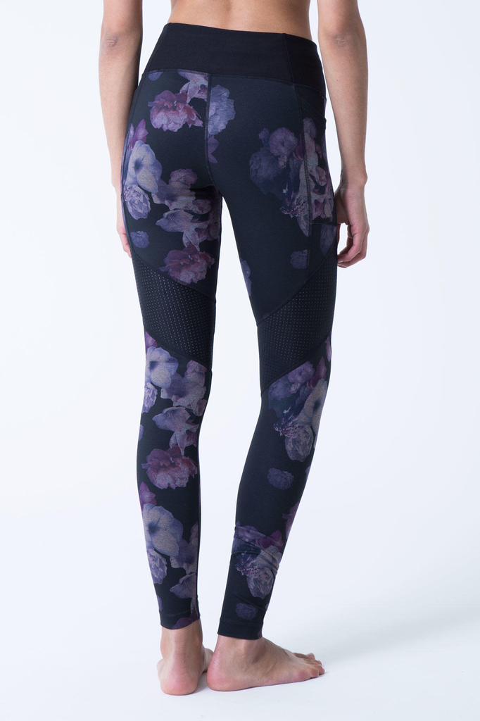 Frame 3.0 Floral and Mesh Leggings - Adult