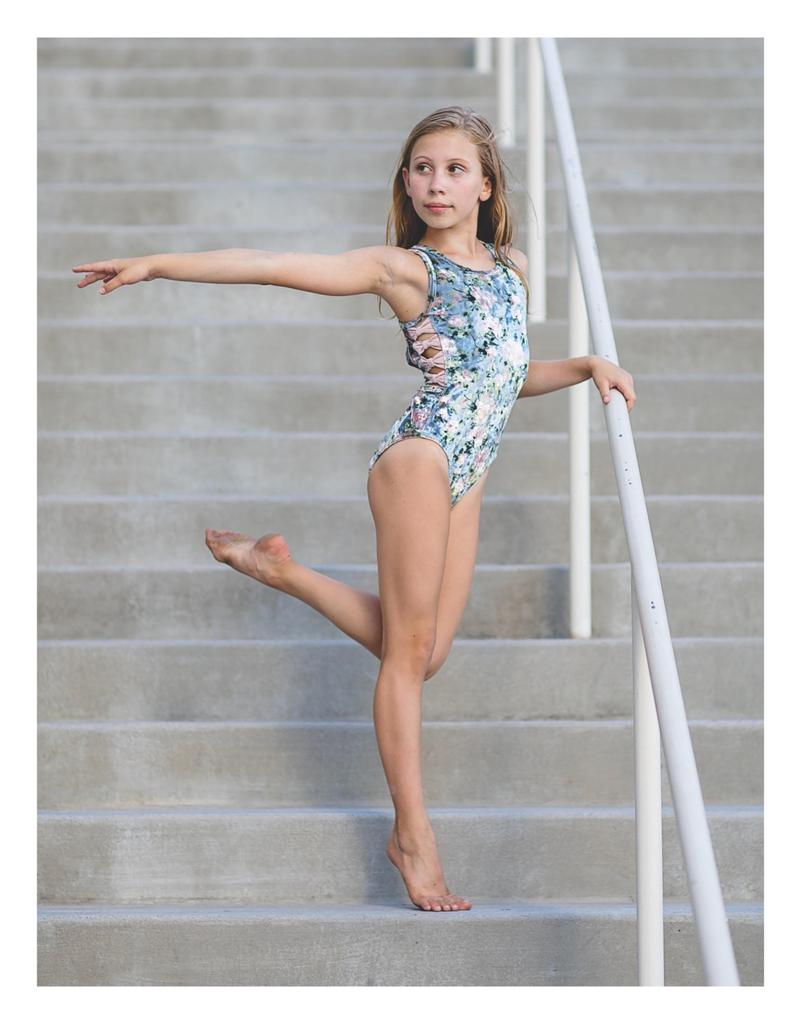 Le Fleur Veleteen Leotard - Child